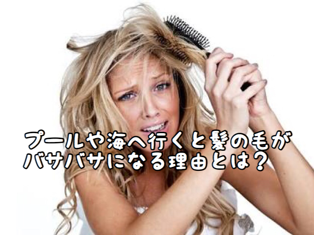 【DMG】海やプールに行くとどうしてこんなに髪がギシギシになるの?