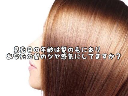"""【アンチエイジング】年齢は """"髪の毛のツヤ感"""" に出ます。あなたの髪の毛見られてますよ"""