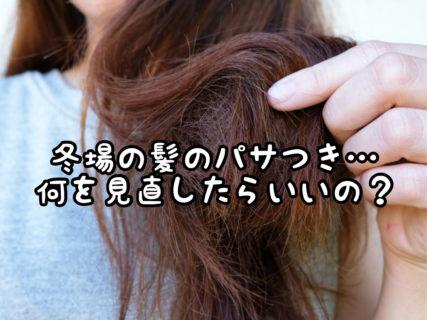 【悩み】髪のパサつき対策にはトリートメント?それともスタイリング剤?