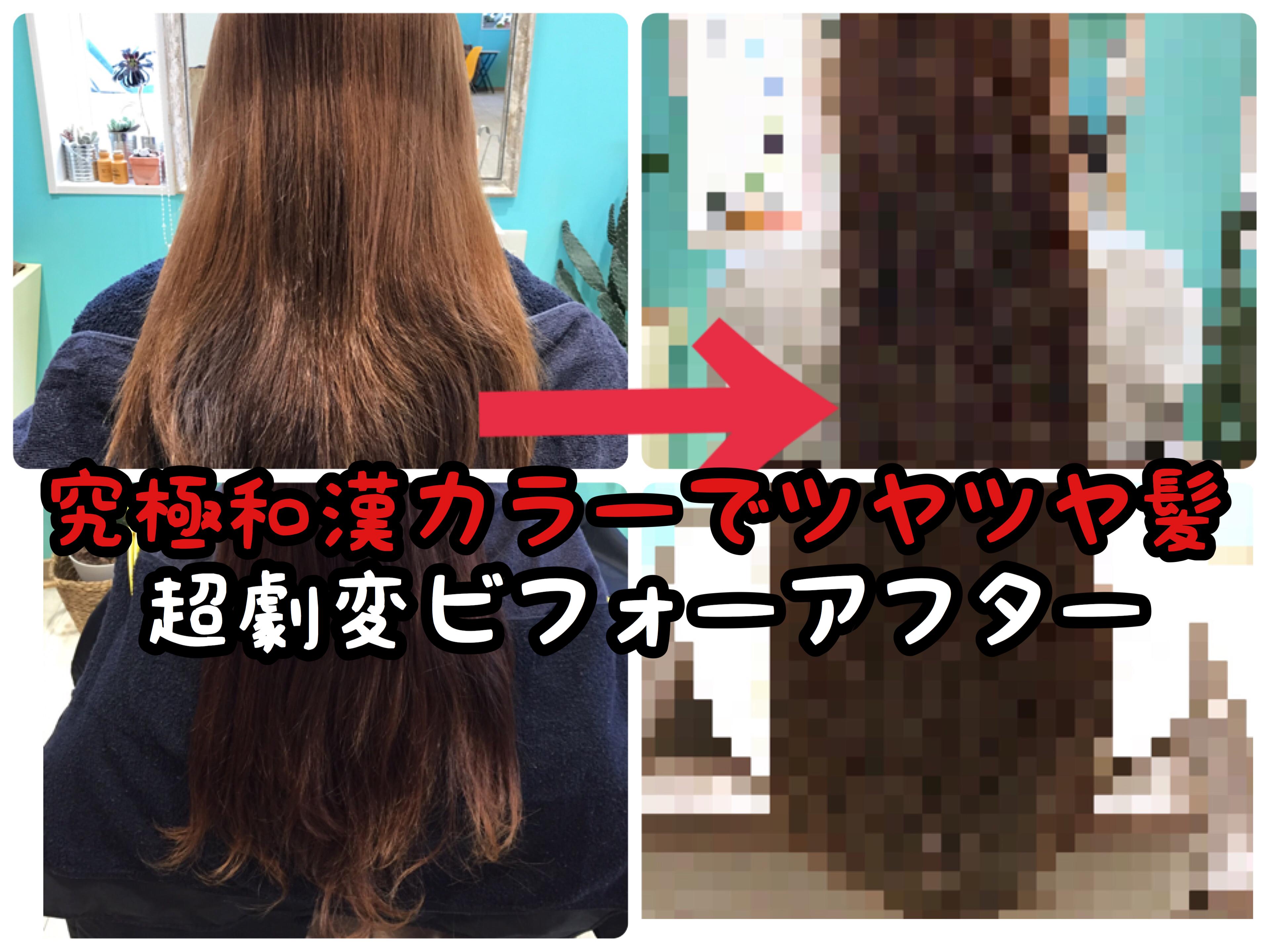 【究極】開発熱が止まりません!!極上美髪を求めて和漢カラーの実験中です