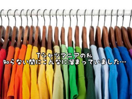 【衣替え】私はTシャツマニアです。。。収納に悪戦苦闘しています。。。