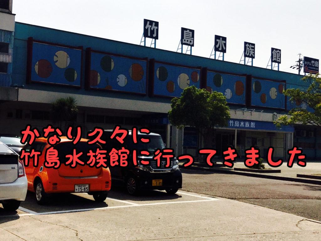 【ローカルスポット】こども達を連れて竹島水族館に数十年ぶりに行ってきました