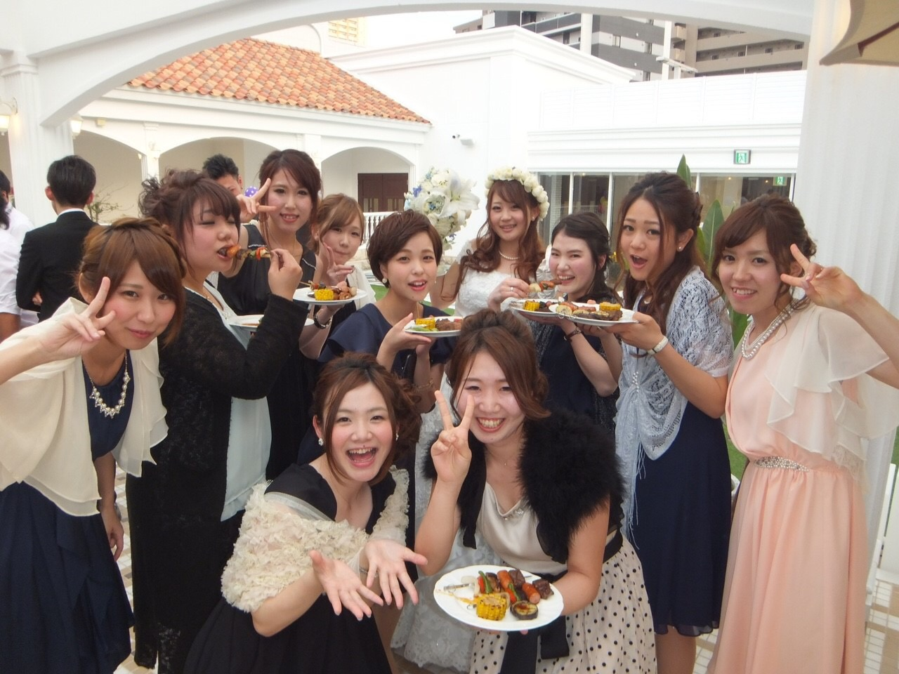 友達の結婚式へ👰💒💐