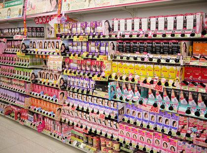 薬局やスーパーで見かけるヘアカラー剤の真実とは