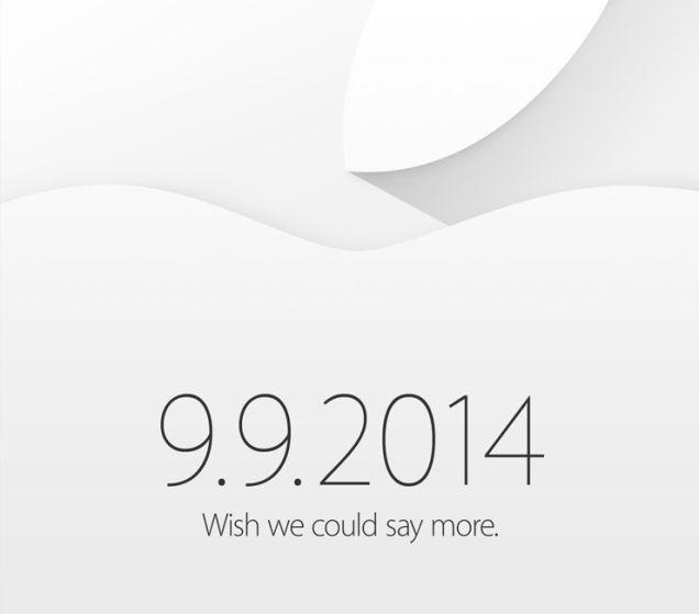 いよいよキター!!Apple発表会