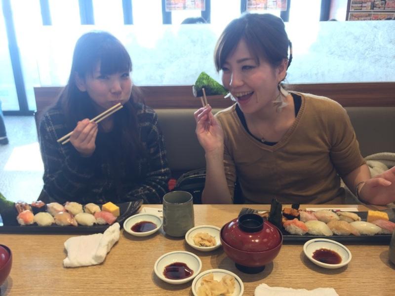 アージュ大忘年会を有名寿司店で!