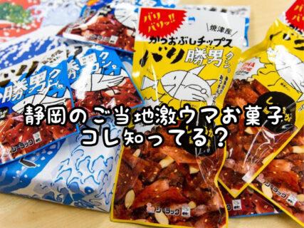 【お土産】静岡県民ならみんな知ってる?激ウマご当地おやつをご紹介します